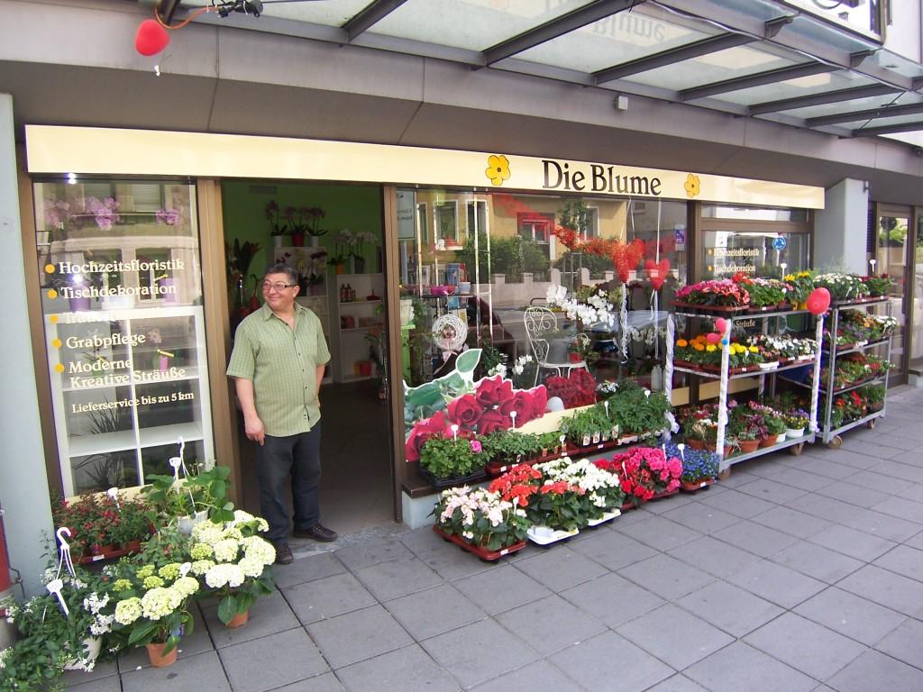 """Neu in Zuffenhausen - """"Die Blume"""""""