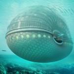 Das Ark Hotel unter Wasser