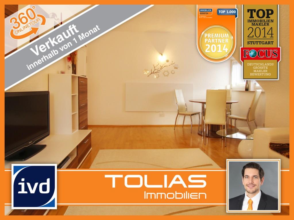 4-Zimmer-DG-Wohnung in Stuttgart-Obertürkheim erfolgreich verkauft