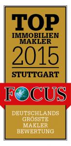 FOCUS TOP Immobilienmakler Stuttgart 2015