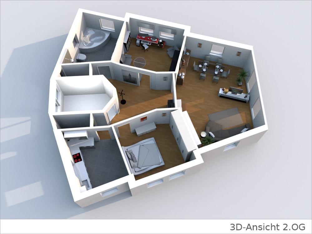 Wohnung grundriss 3d latest d mansion floor plans d plan for Wohnung gestalten 3d