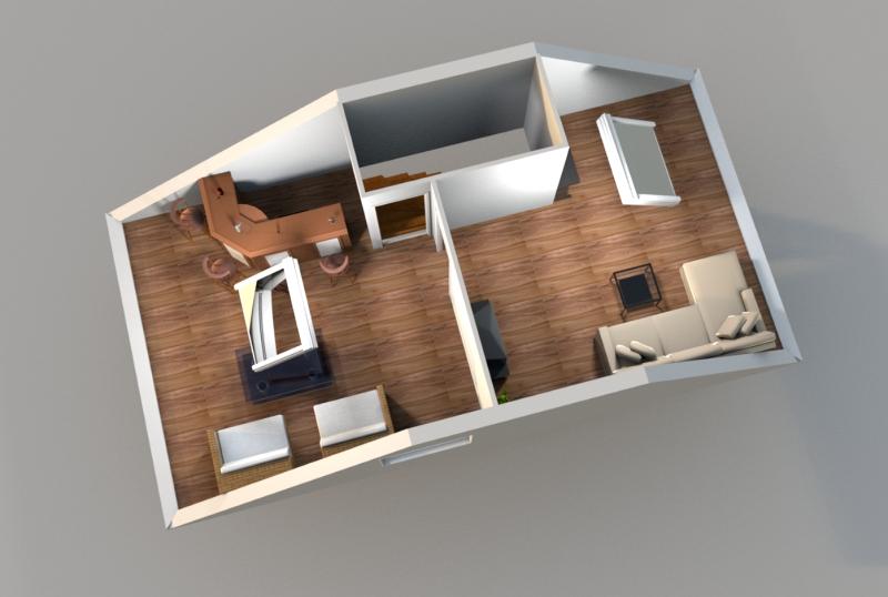 Treppenhaus grundriss 3d  Tolias Immobilien