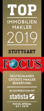 Top Immobilienmakler 2019 - Stuttgart