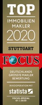 Top Immobilienmakler 2020 - Stuttgart