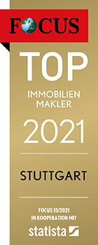 Top Immobilienmakler 2021 - Stuttgart